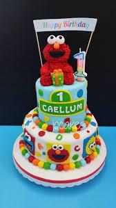 Elmo Birthday Cakes Elmo Cake For Caellums 1st Birthday Jocakes