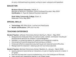 Preschool Teacher Resume Sample Download Preschool Teacher Resume Sample DiplomaticRegatta 52