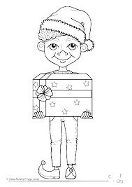 Elf Coloring Pages Printable Elf Coloring Pages Printable Coloring