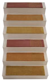 Alto Steps From Liza Phillips Design Madras Wide Products Stair Tread Rugs Stair Rugs
