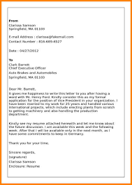 5 Sample Of Business Letter With Enclosures Farmer Resume