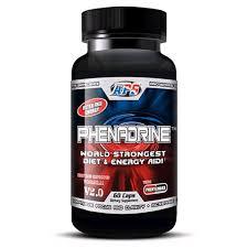 aps nutrition phenadrine 60 capsules