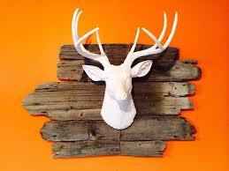 fake deer antler decor strangetowne