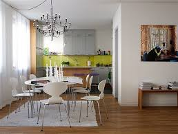 Image Chandelier View In Gallery Homedit 10 Fresh And Casual Dining Room Designs