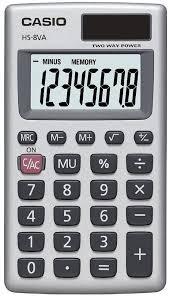 casio hsva basic digit calculator com
