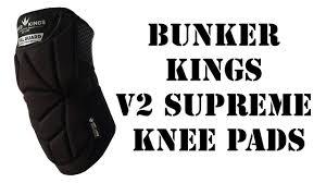 Bunker Kings V2 Supreme Pants Size Chart Bunker Kings V2 Supreme Knee Pads