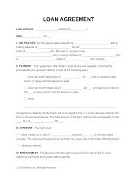 Cash Loan Agreement Sample Awesome Lending Contract Template Cool Personal Loan Agreement Free Money Uk