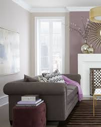 Purple Living Room Furniture Living Room Colors But With Bold Eggplant Rather Than Neutral