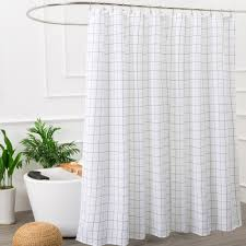 Shower curtains Modern Aimjerry Mold Resistant Fabric Shower Curtain New York Magazine The 14 Best Shower Curtains 2018