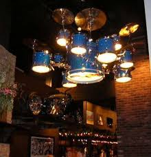 new drum set chandelier drum lights at hardrock chandelier drummakercom supplied flickr large version
