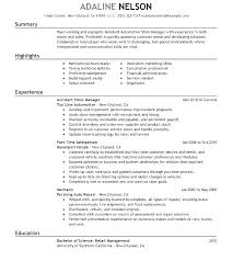 Retail Executive Sample Resume Podarki Co