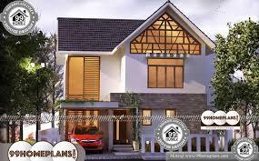 kerala style house design 2 story 1400 sqft home