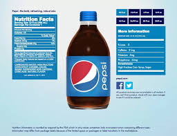paring juice sugar and nutrition to pepsi