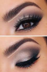 take a look at these false eyelashes and this make those brown eyes a little more stunning with a pair of smokey eye makeup and a well defined eyebrow