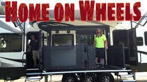 walk through our road warrior 427 toy hauler 28 road warrior life rv full time you