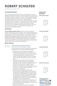 Sample Banking Resume Sample Bank Loan Officer Resume Template