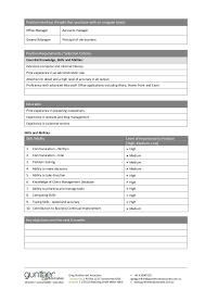 Sample Virtual Assistant Job Description Simple Job Description Template Word