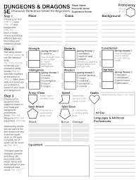 Rpg Character Sheet Designer Better Legends Redesigning The 5th Edition Character Sheet