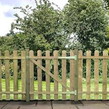 garden gate x pressure treated round top picket wooden garden gate sheds garden gate flowers az