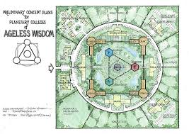 proposed building plan for the wisdom retreat center