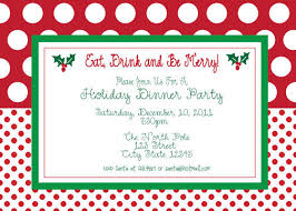 Free Dinner Invitation Templates Printable Magnificent Holiday Party Invites Templates Free Usha Greetings