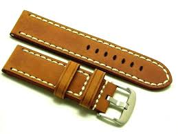 details about 24mm brown hq crazy horse leather watch replacement band invicta 24 men s