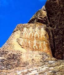 introduction to anthropology dustin m wax full photo of gobustan rock drawing image via horace miner s classic essay ldquobody ritual among the naciremardquo