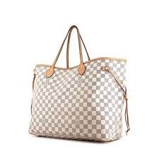 louis vuitton bags. louis vuitton neverfull - shop bag large model shopping in azur damier canvas and natural bags