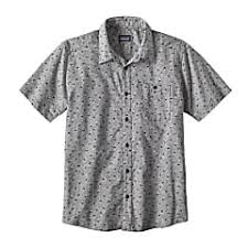 Patagonia M Go To Shirt Jellyfish Small White Fast And
