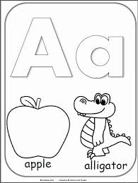 The abc's of preschool by the measured mom is a fantastic tool for. Alphabet Coloring Sheets A Z Pdf Elegant Letter A Alphabet Cards For Display Or Coloring Ful Alphabet Coloring Pages Alphabet Activities Preschool Abc Coloring