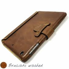 ipad mini 4 leather cover bruciato by nicola meyer
