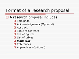 Research Proposal About Figures Of Speech