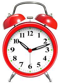 Alarm Clock Red PNG Clip Art  ClipartPNG