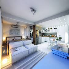 One Room Living Design 2 Super Small Apartments Under 30 Square Meters