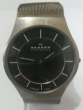 skagen mens titanium watch skagen men s titanium watch 803xlttm
