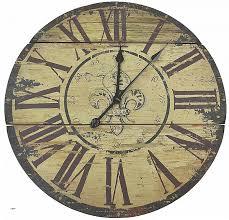 fleur de lis wood wall clock 23 wall clock