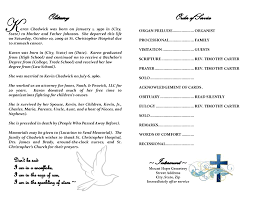 obituary format template best template design images obituary format template
