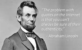 Abraham Lincoln Quote Simple Creativity Boost Abraham Lincoln Quote Or Not