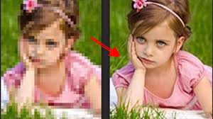 Low To High Quality Resolution Photo Image Photoshop Youtube
