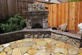 corner fireplace patio covered exterior design ingenious backyard designs ronkonkoma edgewood ny