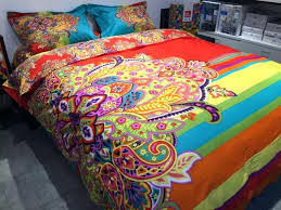colorful bedding sets bright trend on ivory duvet covers with bed sheets uk