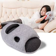 office sleeping pillow. flight travel cushion sleep innovative office power nap pillow ostrich mini comfortable desk rest arm sleeping e