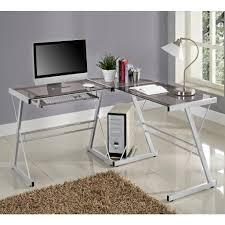 furniture simple walker edison desk design for maximum workspace throughout 3 piece glass computer desk