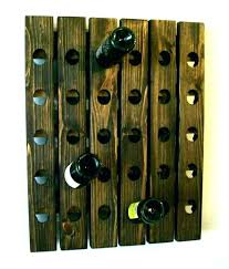 wall mounted wine rack plans hanging racks wooden wood glass wi