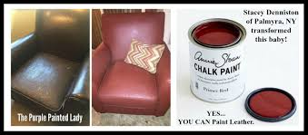 image of how to paint leather furniture acrylic paint spray paint couch can you paint