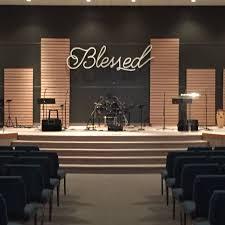 Church Interior Design Blessed Sermon Series At Community Church Of Columbus
