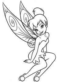 Small Picture Free Tinkerbell Coloring Pages Girls Cartoon Coloring Pages