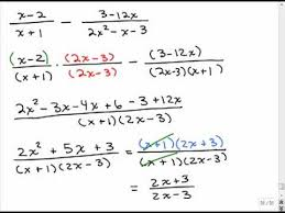 adding subtracting rational expressions like add rational expressions different denominators 3 youtube