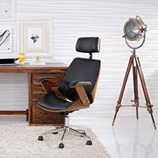 Office table for home Large Ray Executive Study Chair walnut Finish Black Wayfair Home Office Furniture Office Chairs Table Design Online Urban