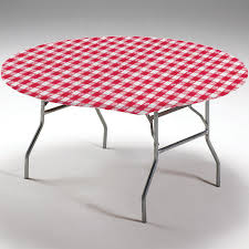 red gingham round stay put elastic fitted plastic tablecloth party at lewis elegant party supplies plastic dinnerware paper plates and napkins